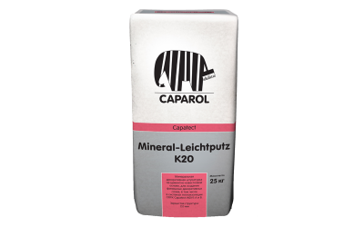 Capatect Mineral Lechtputz К 15, К 20 (фасовка 25 кг)